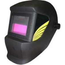 Маска сварщика Корунд АСФ 4/9-13 (со стеклом Хамелеон) в коробке (черная / жёлтая / синяя / серебристая)